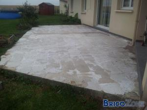Carrelage qui s enfonce for Carrelage qui colle