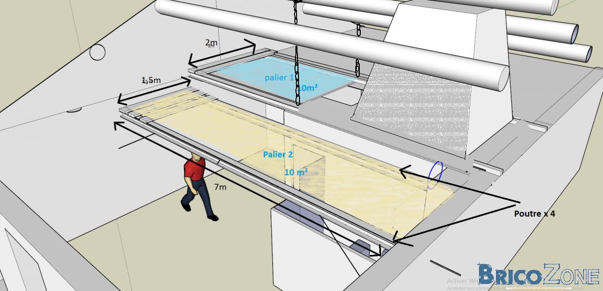 dimensionnement poutre mezzanine et faisabilit. Black Bedroom Furniture Sets. Home Design Ideas