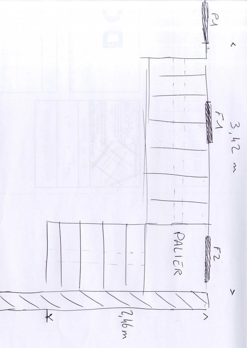 Conception et plan calcul escalier 1000 id es sur la d coration et cadeaux de maison et de - Calcul escalier demi tournant ...
