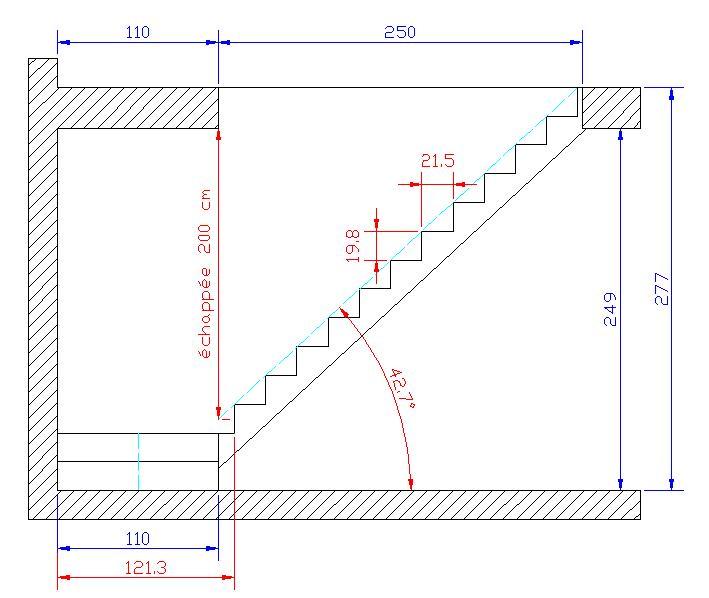 dimension escalier terrasse bois diverses