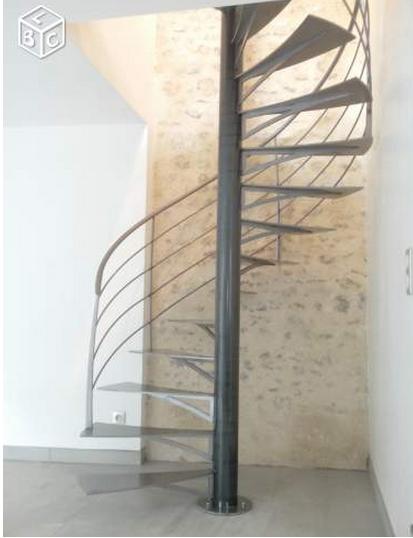 Escalier pour terrasse 20170824124756 - Fabriquer un escalier colimacon ...