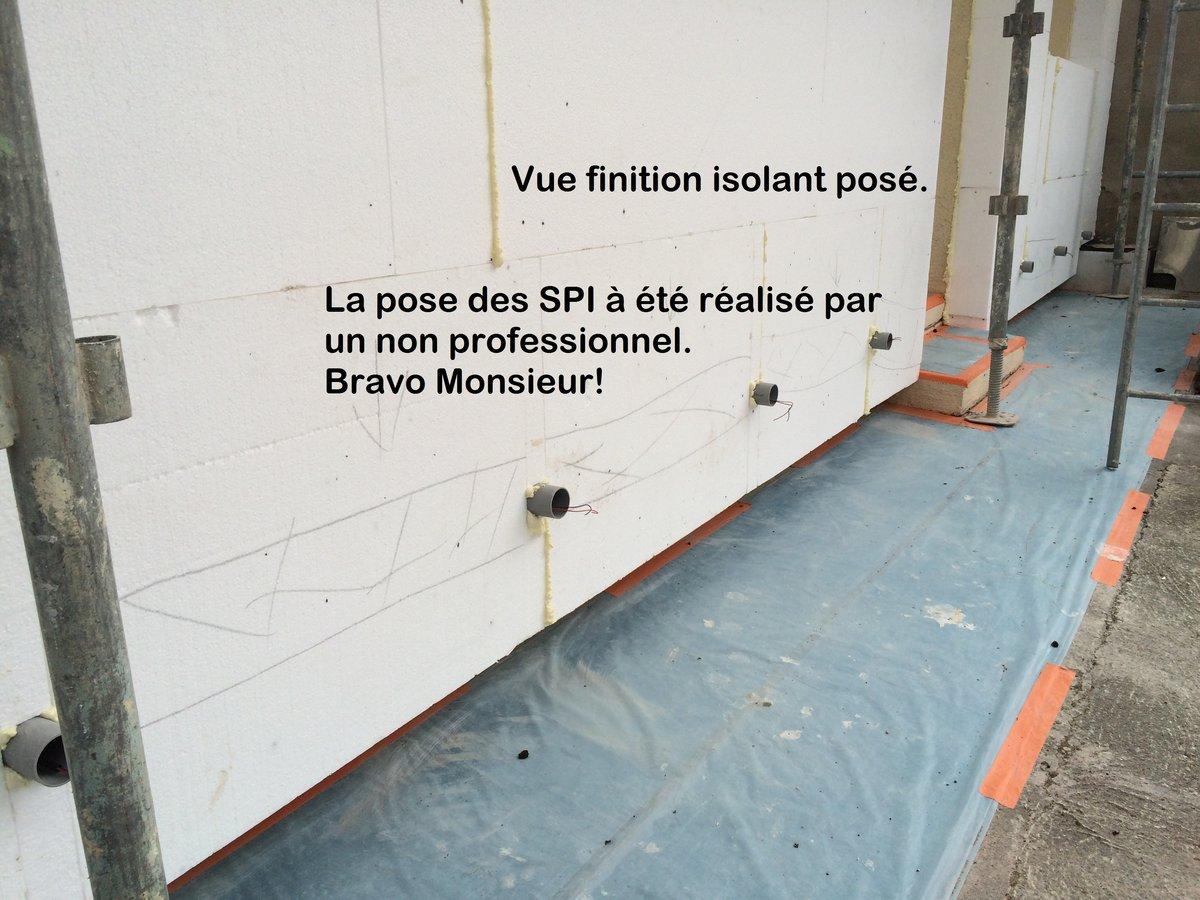 Fissures ext rieures et r paration par ferraillage et enduisage - Reparer fissure crepi facade ...