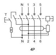 disjonteur triphase 40a et 30mili pour monophase. Black Bedroom Furniture Sets. Home Design Ideas
