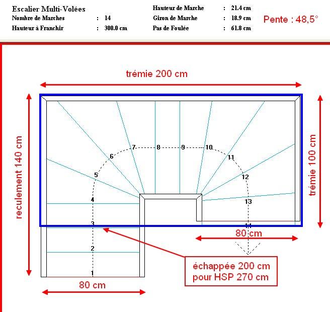 escalier quart tournant dwg ob03 jornalagora. Black Bedroom Furniture Sets. Home Design Ideas