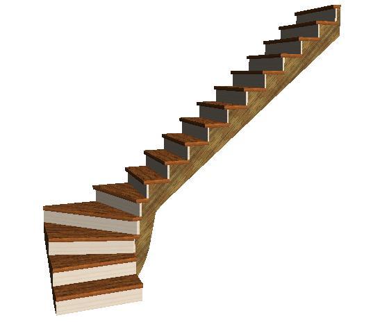 fabriquer escalier quart tournant. Black Bedroom Furniture Sets. Home Design Ideas