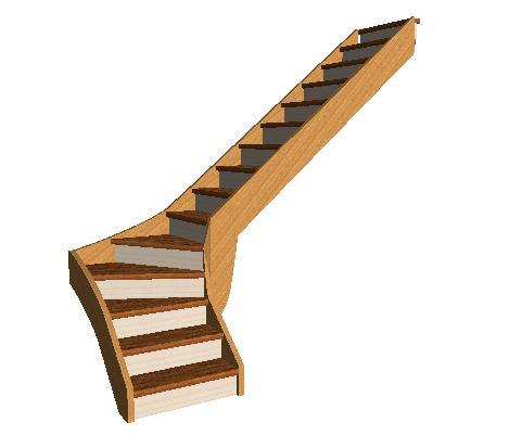 escalier quart tournant bas droit. Black Bedroom Furniture Sets. Home Design Ideas
