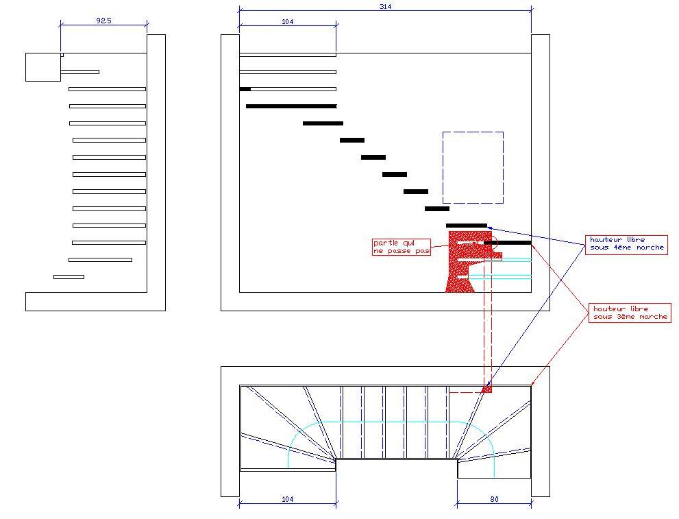 escalier limon contrainte schema et id es. Black Bedroom Furniture Sets. Home Design Ideas