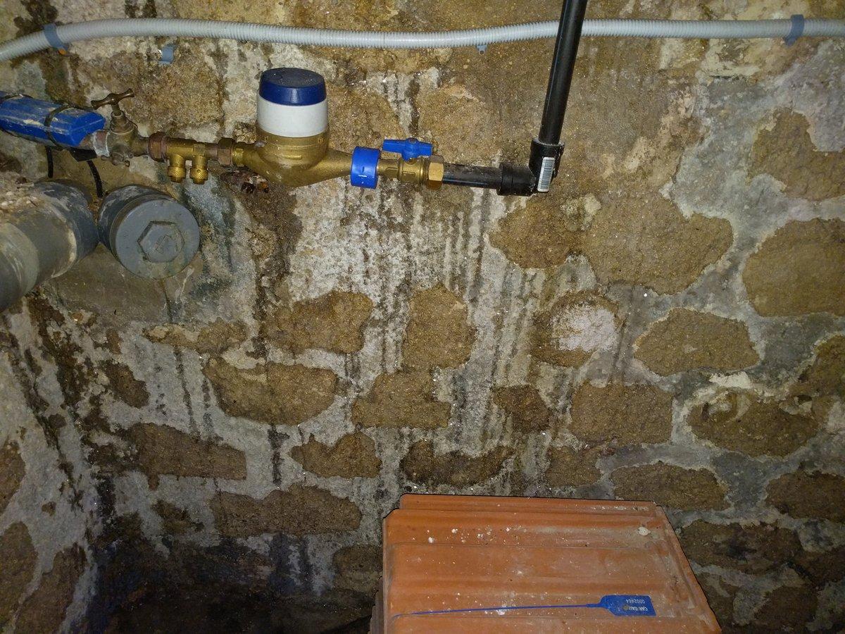 Flaque d'eau dans la cave - Besoin de conseils