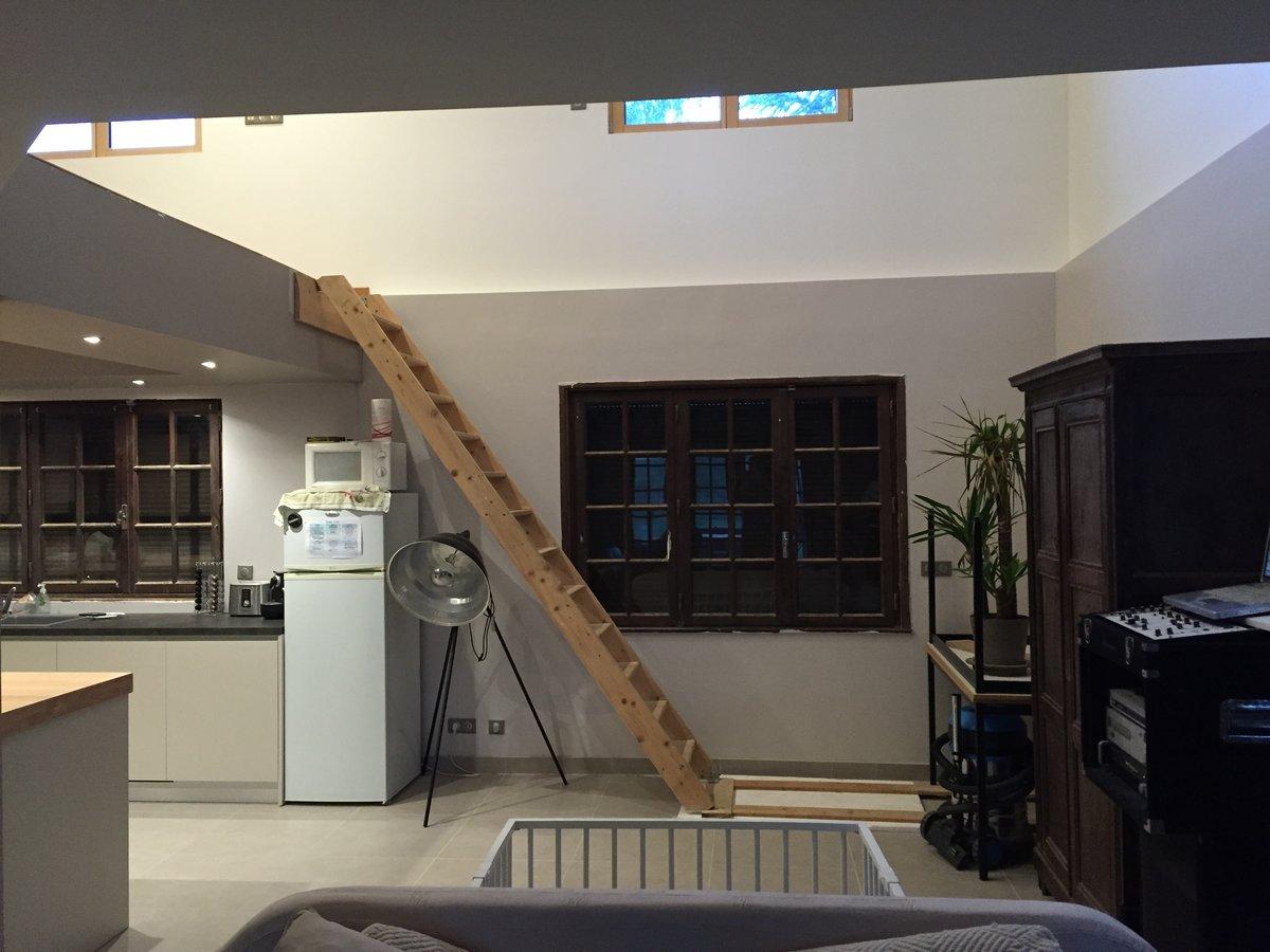 conception d 39 un escalier double limon central. Black Bedroom Furniture Sets. Home Design Ideas