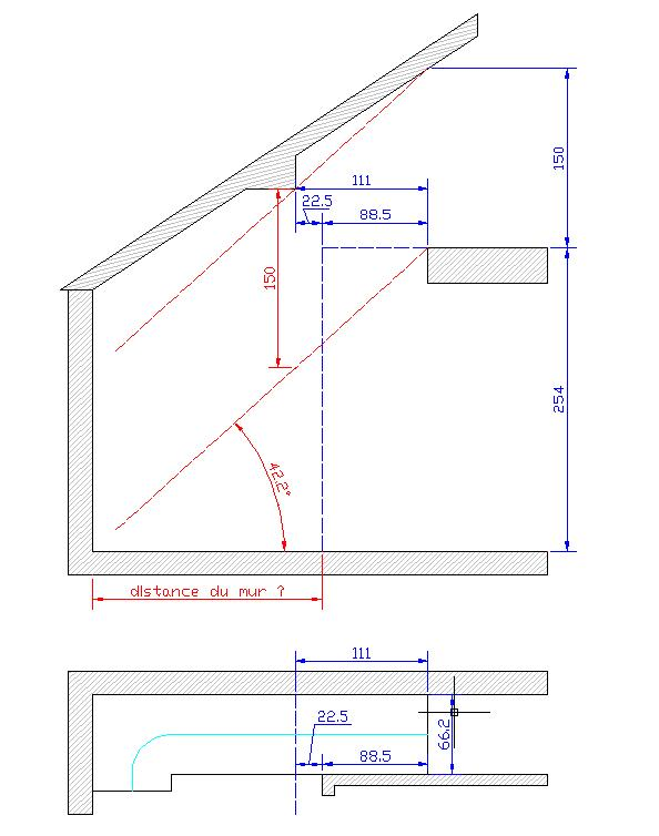 calcul d 39 un escalier avec double limon pour mezzanine. Black Bedroom Furniture Sets. Home Design Ideas