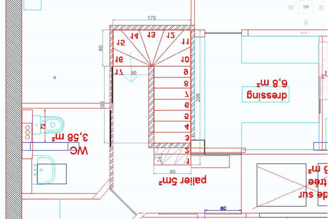 Escalier double quart tournant erreur de conception - Escalier beton double quart tournant en kit ...