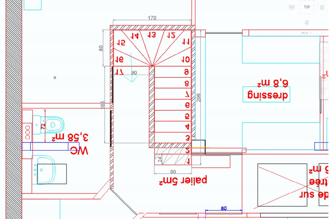 Dimensions escalier quart tournant fashion designs for Calcul escalier 2 quart tournant