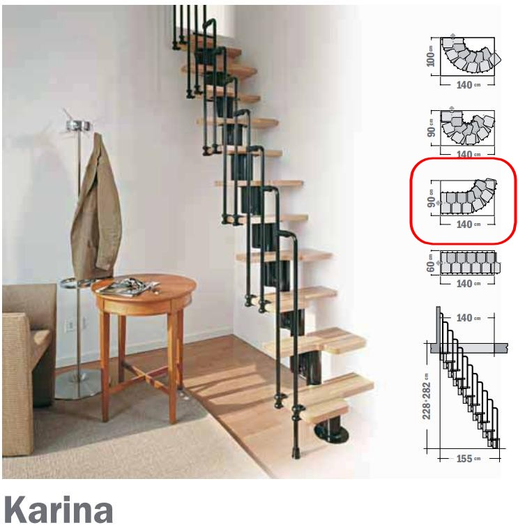 quelle solution d 39 escalier pour petite tr mie. Black Bedroom Furniture Sets. Home Design Ideas